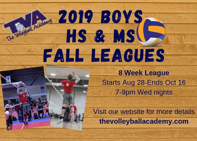 Boys Fall League